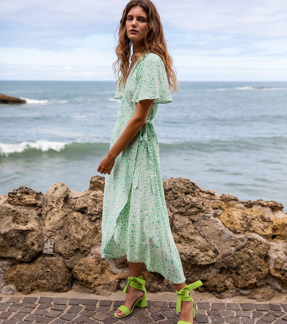 Shop green hues